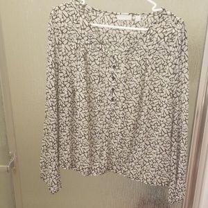 New York and Company Size XL Blouse